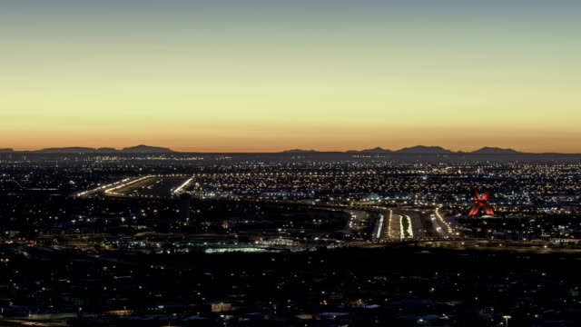 El Paso TX and Ciudad de Juarez Chijuajua sunrise