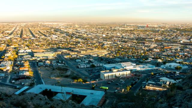 El Paso TX and Ciudad de Juarez Chijuajua sunset