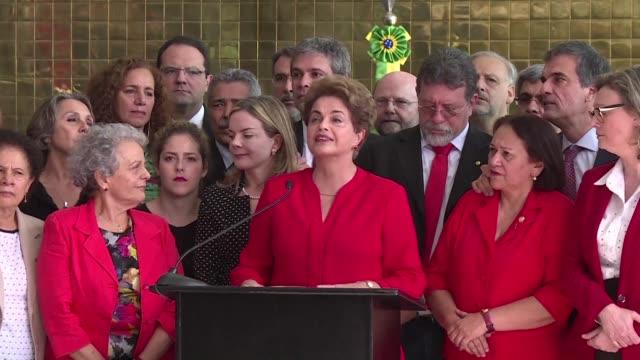 el politologo brasileno mauricio santoro asegura que es dificil concluir si efectivamente dilma rousseff es culpable del delito que le imputaban y... - examen stock videos and b-roll footage