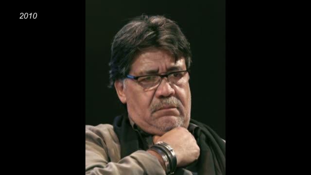 el popular escritor chileno luis sepúlveda, forzado al exilio bajo la dictadura de augusto pinochet, murió en españa a los 70 años, después de mes y... - editorial stock videos & royalty-free footage
