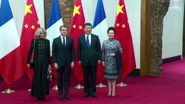 El presidente de Francia Emmanuel Macron insto el lunes en China a los lideres europeos a participar en las Nuevas Rutas de la Seda el ambicioso...
