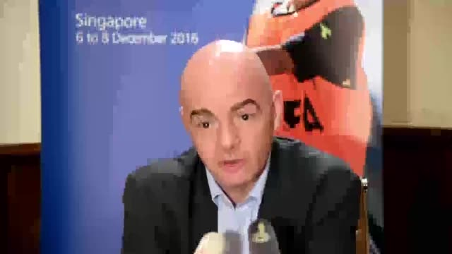 el presidente de la fifa gianni infantino abogo por cero tolerancia en casos de abusos sexuales a menores - gianni infantino stock videos and b-roll footage