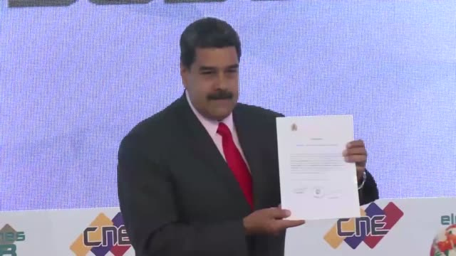 vídeos y material grabado en eventos de stock de el presidente de venezuela expulso el martes al encargado de negocios de estados unidos en caracas todd robinson y al jefe de la seccion politica... - ee.uu
