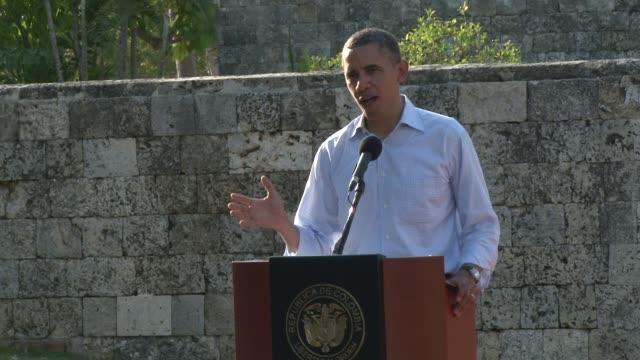 El presidente estadounidense Barack Obama espera que Cuba inicie una transicion democratica para integrase a las cumbres de las Americas Cartagena...