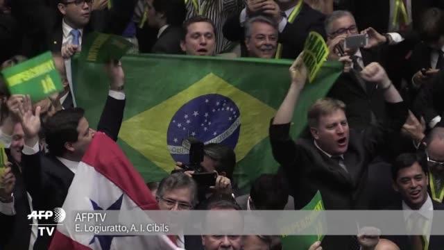 El presidente interino de la Camara de Diputados de Brasil Waldir Maranhao anulo el lunes la sesion que a mediados de abril aprobo el impeachment...