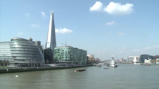 El rascacielos The Shard ha abierto un debate al surgir en el paisaje de Londres London United Kingdom
