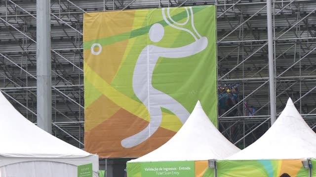 el remo fue suspendido y el tenis retrasado en la segunda jornada de los juegos olimpicos - remo stock videos and b-roll footage