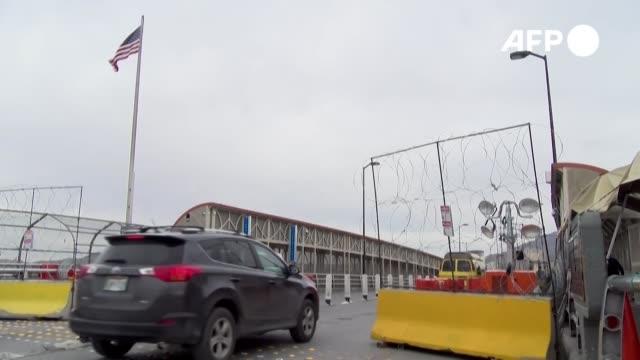 el secretario del departamento de seguridad interior chad wolf anunció el jueves que la frontera con méxico y con canadá va a permanecer cerrada para... - canadá stock videos & royalty-free footage