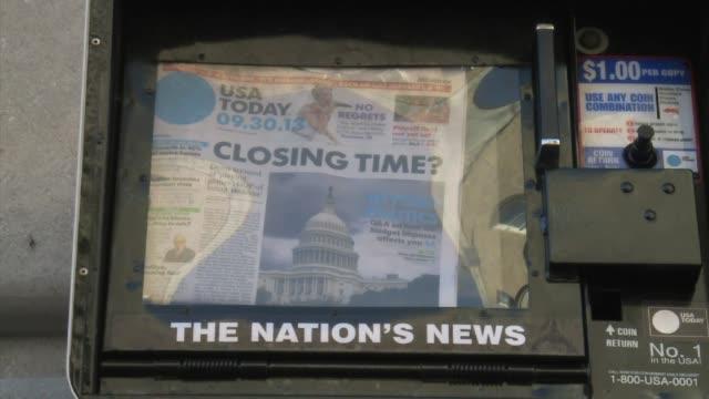 el senado estadounidense rechazo este lunes el proyecto de ley de presupuesto aprobado el fin de semana por la camara de representantes lo que... - aprobado stock videos & royalty-free footage