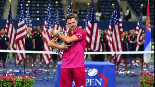 El tenista suizo Stan Wawrinka se titulo por primera vez en el Abierto de Estados Unidos al vencer al serbio y numero uno del mundo Novak Djiokovic