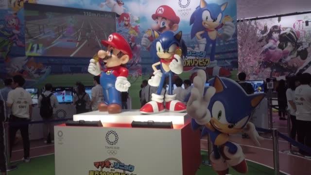 vídeos y material grabado en eventos de stock de el tokyo game show gran cita de los videojuegos abrio el jueves sus puertas en los suburbios de la capital japonesa con la intencion de atraer la... - concurso televisivo