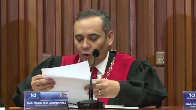 El Tribunal Supremo de Justicia de Venezuela anulo el sabado dos sentencias con las cuales se adjudico las facultades del Parlamento dominado por la...