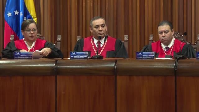 El Tribunal Supremo de Justicia de Venezuela rechazo el sabado haber disuelto al Parlamento de mayoria opositora y anulo dos fallos con los que había...