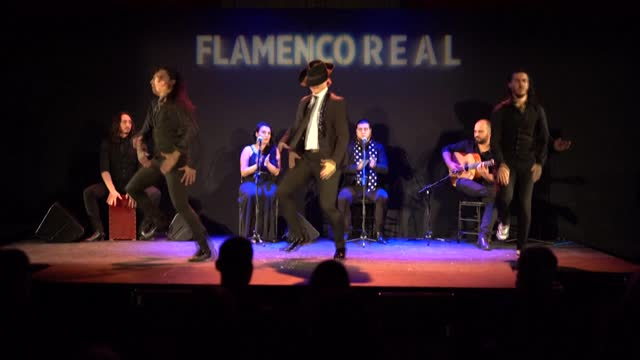 el yiyo a flamenco dancer whose real name is miguel fernandez honed his skills by watching youtube videos now aged just 24 he made his debut at... - flamenco musica spagnola video stock e b–roll