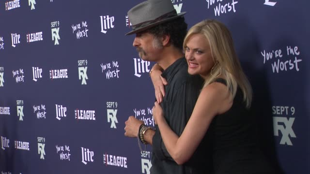 Elaine Hendrix and John Ales at the Premiere of FXX's The League Final Season and You're The Worst 2nd Season at Regency Bruin Theater on September...