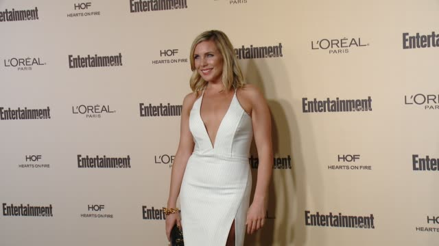 elaine hendrix at entertainment weekly's preemmy celebration at fig olive melrose place on september 18 2015 in west hollywood california - entertainment weekly stock videos and b-roll footage
