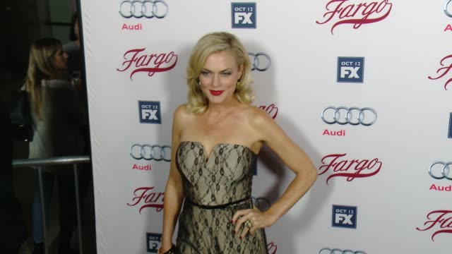elaine hendrix at fx's fargo los angeles premiere at arclight cinemas on october 07 2015 in hollywood california - arclight cinemas hollywood stock-videos und b-roll-filmmaterial