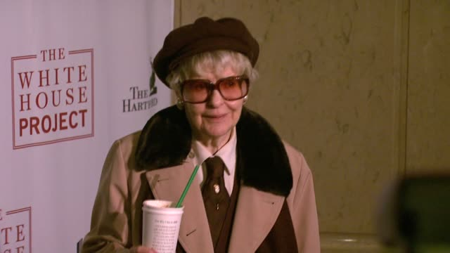 elaine stritch at the white house project honors billie jean king at 2007 epic awards at the american museum of natural history in new york new york... - billie jean king stock videos & royalty-free footage