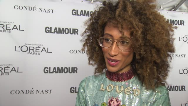 INTERVIEW Elaine Welteroth on coming back to Glamour at Glamour's 2017 Women Of The Year on November 13 2017 in New York City