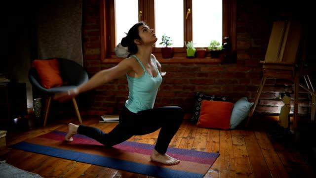 elastic body - pilates stock videos & royalty-free footage