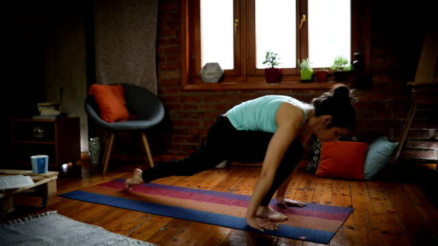 elastic body - pilates stock videos and b-roll footage
