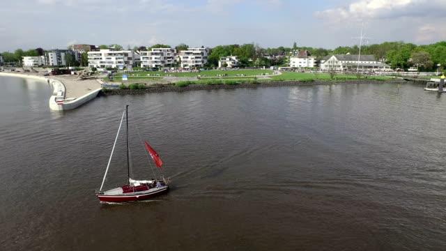Elbe River Aerial