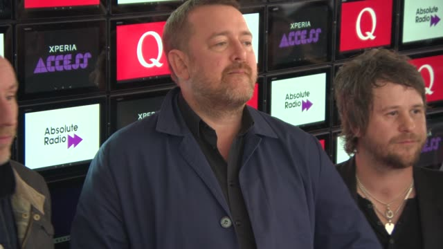 elbow at xperia access q awards at grosvenor house on october 22 2014 in london england - elbow stock videos & royalty-free footage