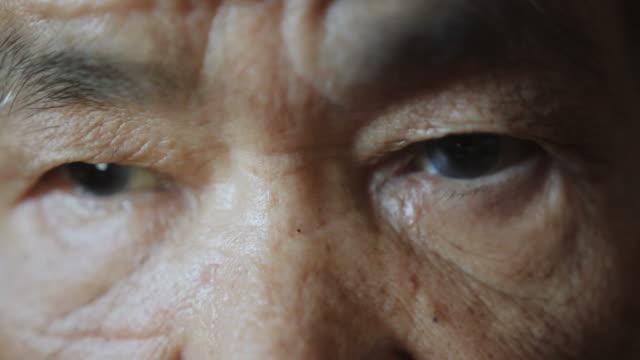 elder woman eyes