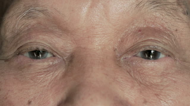 elderly men eye - close to stock videos & royalty-free footage