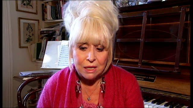 boris johnson and barbara windsor entertain elderly people at christmas; barbara windsor interview sot - i'm having a great time / group is fantastic... - time of day stock videos & royalty-free footage