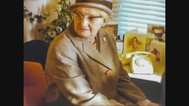 elderly woman, 4k digitized footage - senior women stock videos & royalty-free footage