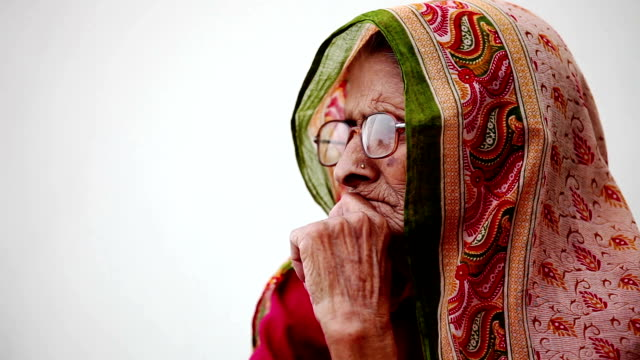 elderly woman - indian culture stock videos & royalty-free footage