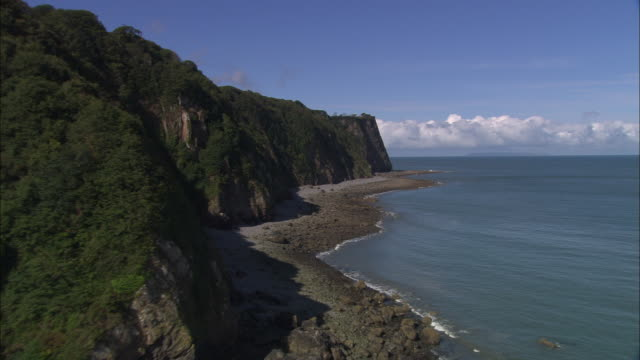 vidéos et rushes de eldern point and barley bay - outcrop