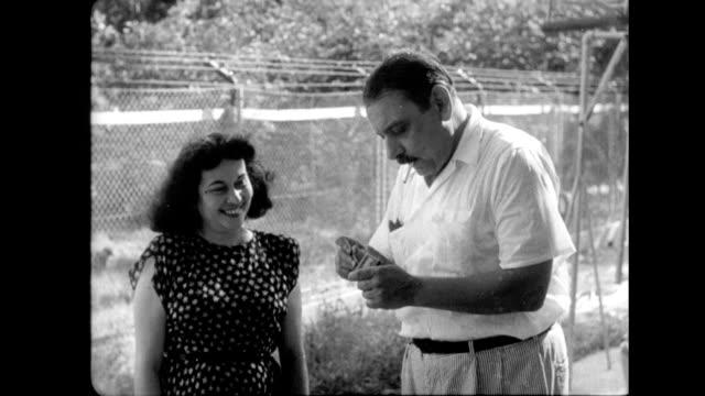 vidéos et rushes de elected governor luis munoz marin of puerto rico and family elected governor luis munoz marin of puerto rico on january 01 1948 in puerto rico - gouverneur