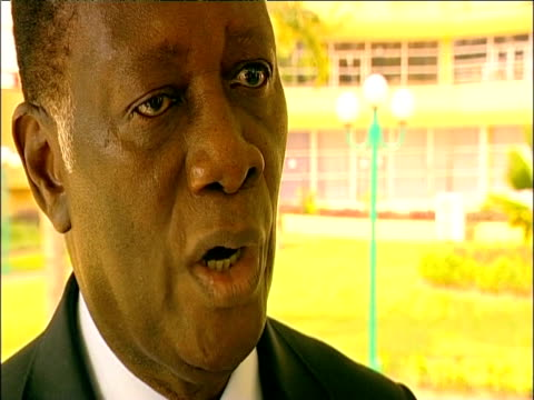 elected president alassane ouattara of the ivory coast talks of civil war in the ivory coast - côte d'ivoire stock videos & royalty-free footage