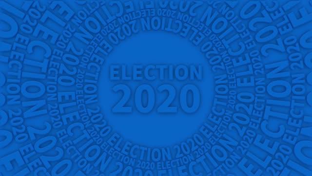 stockvideo's en b-roll-footage met verkiezing 2020 4k loopable stock video - political action committee