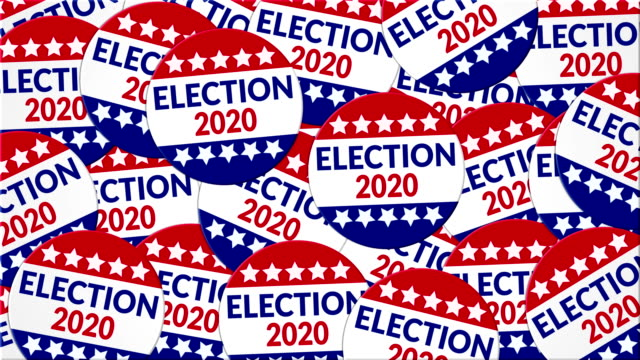 election 2020 - american culture stock videos & royalty-free footage