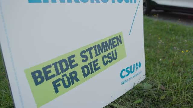DEU: Political Rally Held In Munich, Germany