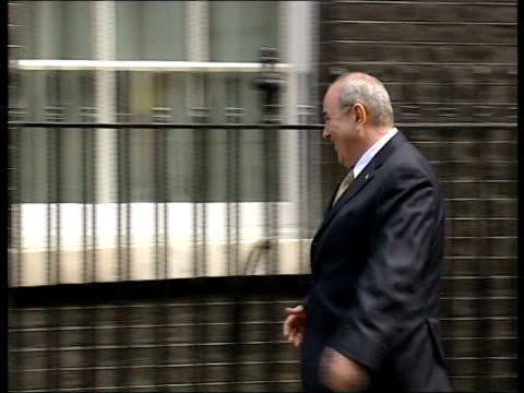 Election Results Announced FILE / TX London Downing Street Iyad Allawi along to No10 and shakes hands with PM Tony Blair MP INT Allawi and Blair into...