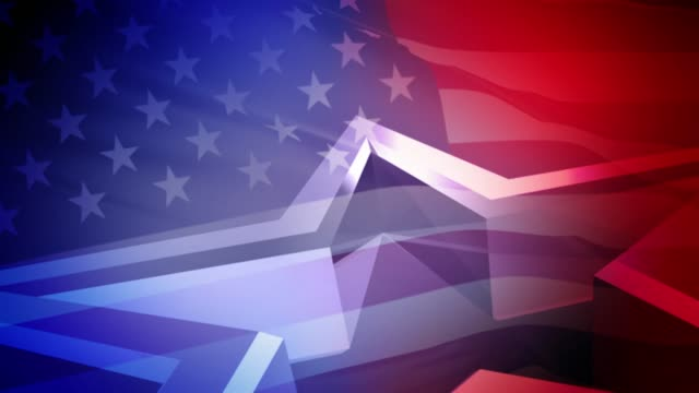 usa election video background seamless loop - stars and stripes stock videos & royalty-free footage