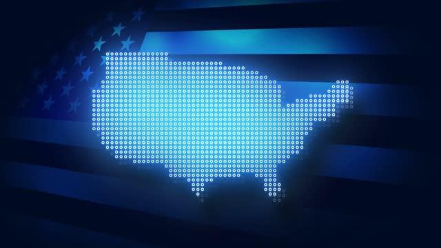 us-wahlen stock video. abstimmung in den vereinigten staaten und us-flagge. - us president stock-videos und b-roll-filmmaterial