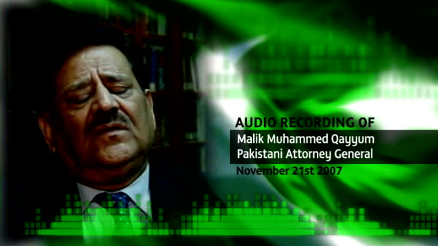 vote rigging allegations; t10110725 graphicised pictures recording of pakistan attorney general malik muhammed qayyum talking of election rigging sot - rigging stock videos & royalty-free footage