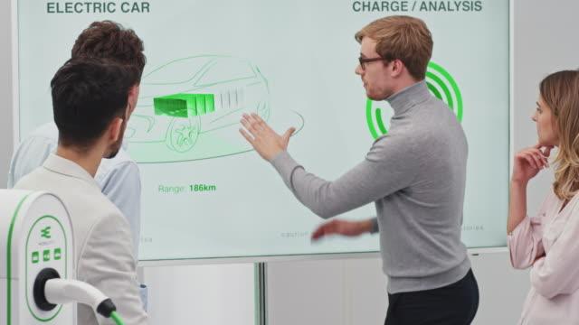 electric car development meeting - development stock videos & royalty-free footage