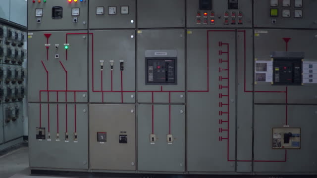 elektrische fabrik - ingenieurwesen stock-videos und b-roll-filmmaterial