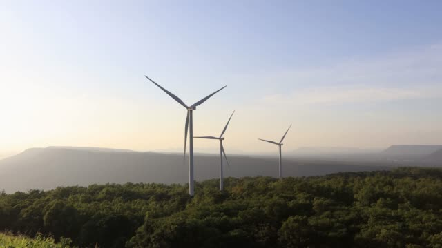 electric generating wind turbine. - wind power stock videos & royalty-free footage