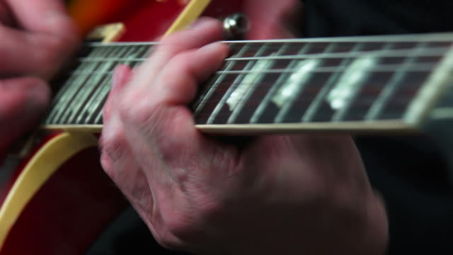 electric guitar solo close-up - sdi productions stock videos & royalty-free footage