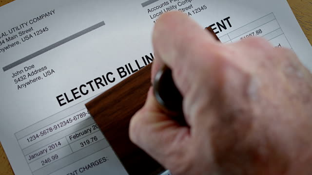 Electric Past Due Bill
