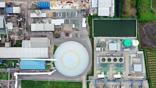 vidéos et rushes de sous-station de centrale électrique, emballage de papier de fabrication orienté vers l'exportation et industrie ondulée - écosystème