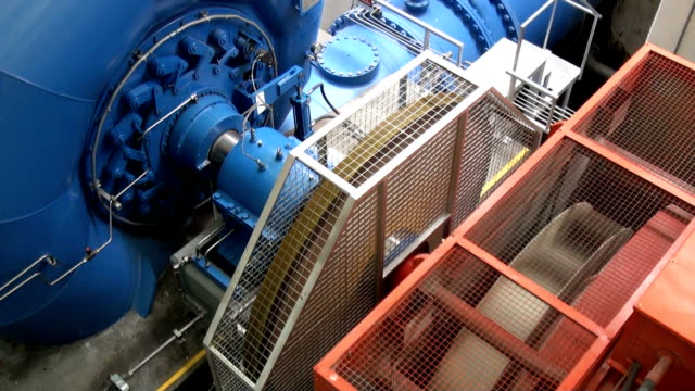 electric turbine - generator stock videos and b-roll footage