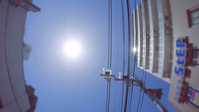 Electric wire of the town -4K-